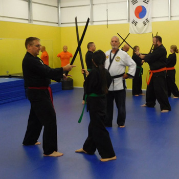 Group Martial Arts Class